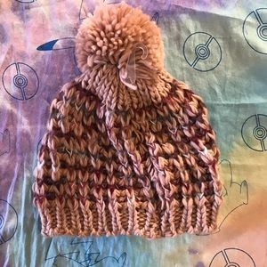 [Maurice's] NWT - Pink and Maroon Winter Hat